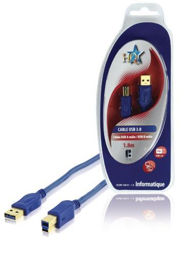 HQBF-M031-1.8 CABLE USB3.0 M/M A/B 1.8M FR