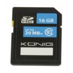 König CSSDHC16GB SDHC geheugenkaart Class 10 16 GB