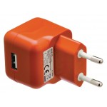Valueline VLMP11955O USB-lader USB A female - AC-huisaansluiting oranje