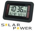 Balance 866433 Zendergestuurde LCD wandklok