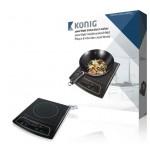 König HA-INDUC-11N Design inductiekookplaat 2000 W