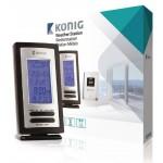 König KN-WS205 Weerstation met draadloze buitensensor en hygrometer