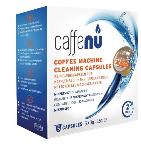999190406 Schoonmaak capsules voor Nespresso koffie machine