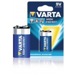 Varta 4922.121.411 Batterij alkaline LR22 9 V High Energy 1-blister