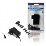 HQ P.SUP.SMP5V2A5 Universele adapter 230 - 5 V + 8 pluggen