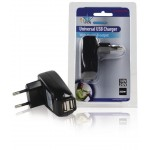 HQ P.SUP.USB402 Dubbele USB lader