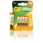GP 03024AU-U4 Batterij alkaline AAA/LR03 1.5 V Ultra 4-blister