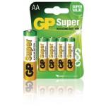 GP 03015AC4 Batterij alkaline AA/LR6 1.5 V Super 4-blister