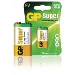 GP 0301604AC1 Batterij alkaline 9 V Super 1-blister