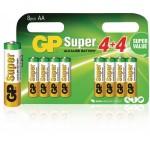 GP 03015ADHC8 Batterij alkaline AA/LR6 1.5 V Super 8-blister