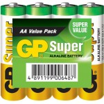 GP 03015AS Batterij alkaline AA/LR6 1.5 V Super display 48x 4-foil