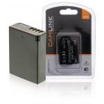 Camlink CL-BATLPE10 Oplaadbare accu voor digitale camera's 7.4 V 1120 mAh