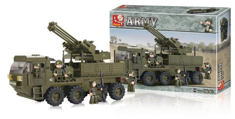 Sluban M38-B0302 Heavy Equipment Transporter