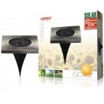 Ranex 5000.406 LED-grondspot op zonne-energie, vierkant
