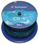 Verbatim 43351 CD-R Extra Protection 700 MB spindle 50 stuks