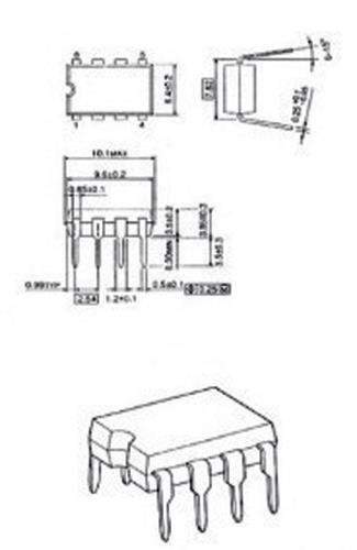 LM386N-MBR Audio amplifier 1 x 0.33 W 6 V 0.2