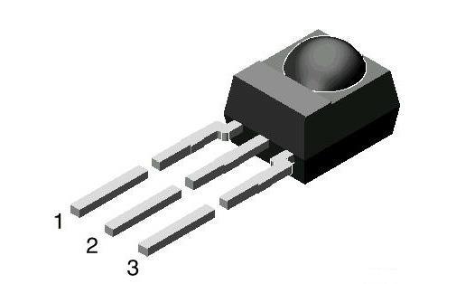 Vishay TSOP34838-VIS Photo module 38 KHz