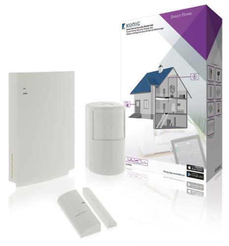 SAS-CLALARM05 Smart home starter beveiligingsset