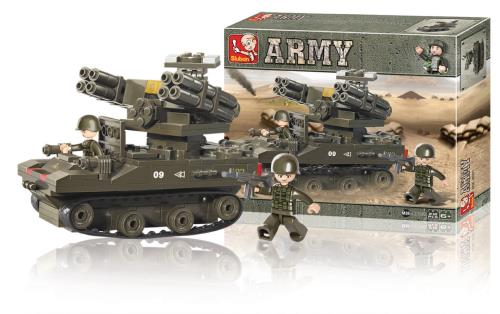 M38-B0283 Building Blocks Army Series Rocket Launcher