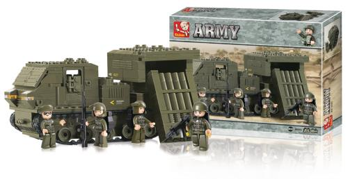M38-B0303 Building Blocks Army Series Rocket Launcher