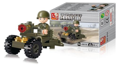 M38-B0118 Building Blocks Army Series Soldier
