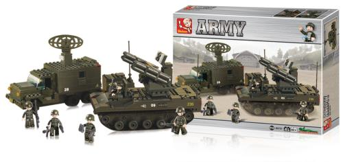 M38-B6700 Building Blocks Army Series Launch Rocket System