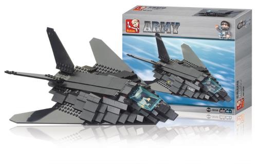 M38-B0108 Building Blocks Army Series Bomber