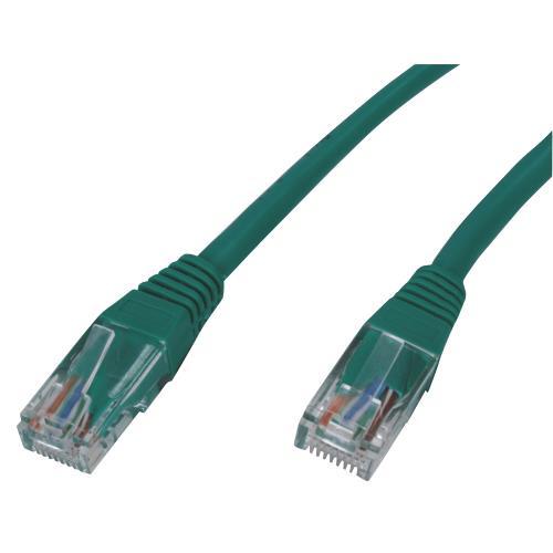 UTP-0008-3GR CAT5e UTP Netwerkkabel RJ45 8/8 Male - RJ45 8/8 Male 3.00 m Groen