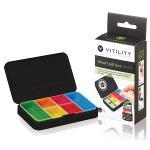Vitility 90610050 Slimme pillendoos - klein zwart