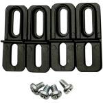RND Components RND 455-00482 Mounting Bracket Aluminium Alloy Zwart