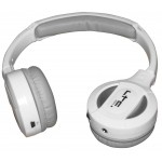 LTC Audio Hdj100bt-wh draadloze bluetooth hoofdtelefoon - wit