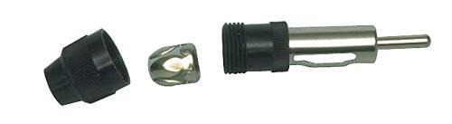 CAR-005 Antenne plug soldeer versie