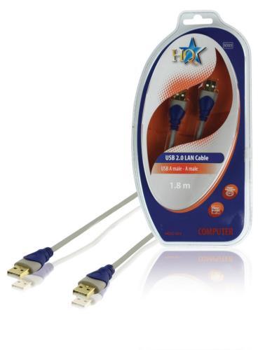 HQSC-023 Standaard USB 2.0 LAN kabel 1,80 m