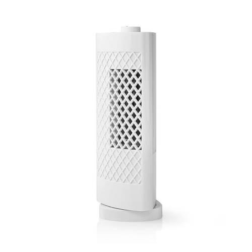Nedis FNDK2WT30 Torenventilator voor Bureaus   Hoogte 30 cm   3-Snelheden   Oscillatie   Wit