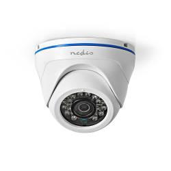 Nedis 4IN1CDW10WT CCTV Beveiligingscamera | Bullet | Full HD | Ondersteunt AHD / TVI / CVI en Analoog
