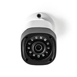 Nedis 4IN1CBW10WT CCTV Beveiligingscamera | Bullet | Full HD | Ondersteunt AHD / TVI / CVI en Analoog | IP66 voor Buiten