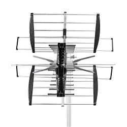 Nedis ANOR7280ME TV-Antenne voor Buiten | Max. 14 dB Versterking | VHF: 170 - 230 MHz | UHF: 470 - 694 MHz | 28 Compo...