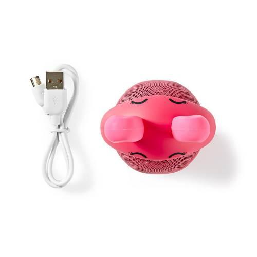 Nedis SPBT4110PK Animaticks Bluetooth Speaker | 3 uur speeltijd | Handsfree bellen | Robby Rabbit
