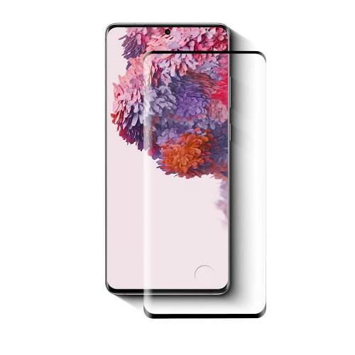 Nedis SFGP10017TP Screenprotector van Glas voor Samsung Galaxy S20 Ultra | Volledige dekking | 3D gebogen | Transpara...