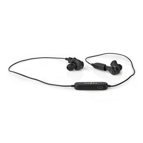 Nedis HPBT5053BK Volledig draadloze Bluetooth® Oordopjes | 3.5 Uur Afspeeltijd | Charging Case | Zwart