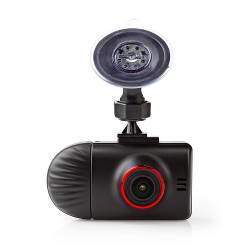 Nedis DCAM40BK Dashboardcamera   Wide Quad HD 1440 p (2 K)   2 CH   2,4 Inch   Kijkhoek Van 140°