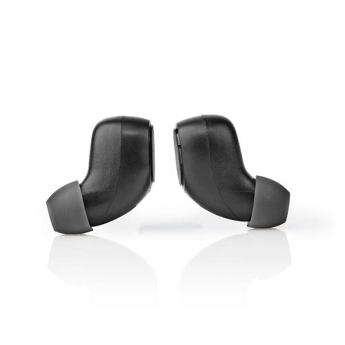 Nedis HPBT3053BK Volledig Draadloze Bluetooth®-Oordopjes | 3 uur Afspeeltijd | Spraakbediening | Aanraakbediening | C...