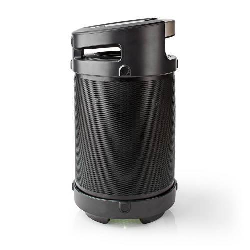 Nedis SPBB350BK Bluetooth® feestluidspreker | 3,5 uur gebruiksduur | 150 W | IPX5-waterdicht | TWS | Handgreep | Fees...