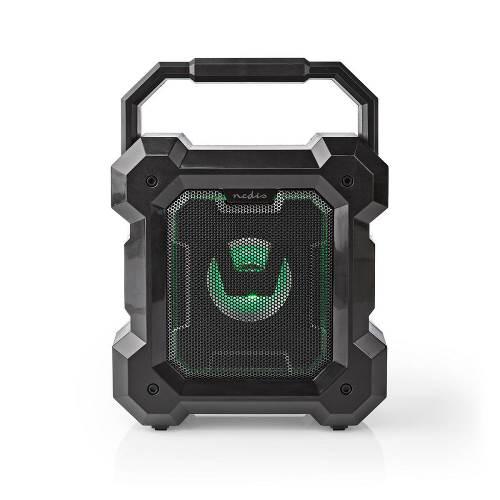 Nedis SPBT1003BK Bluetooth® speaker | 5.1 W | 13 uur speeltijd | LED-lamp | zwart
