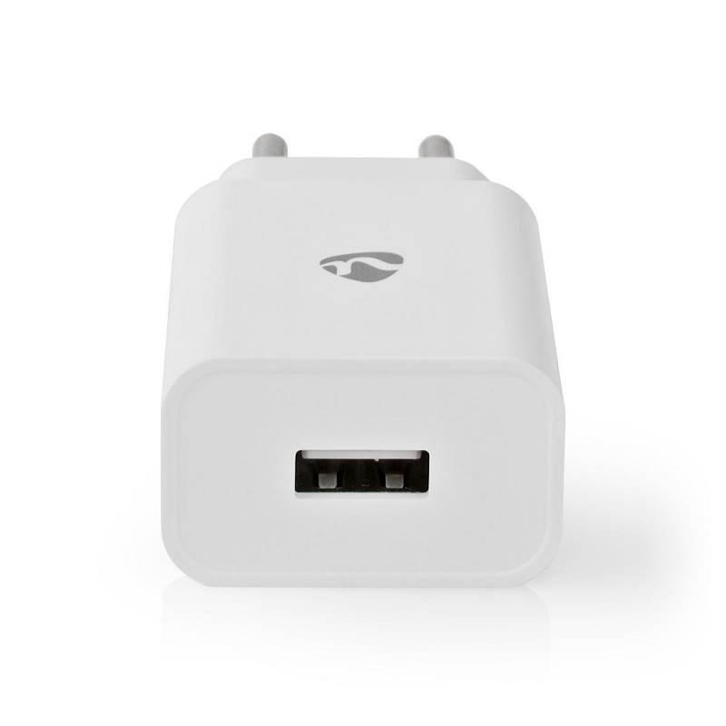 Nedis WCHAU242AWTP Wandlader | 2,4 A | 1 uitgang | USB-A | wit