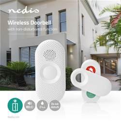 Nedis DOORB230CWT Draadloze Deurbelset | Netvoeding | 36 Melodieën