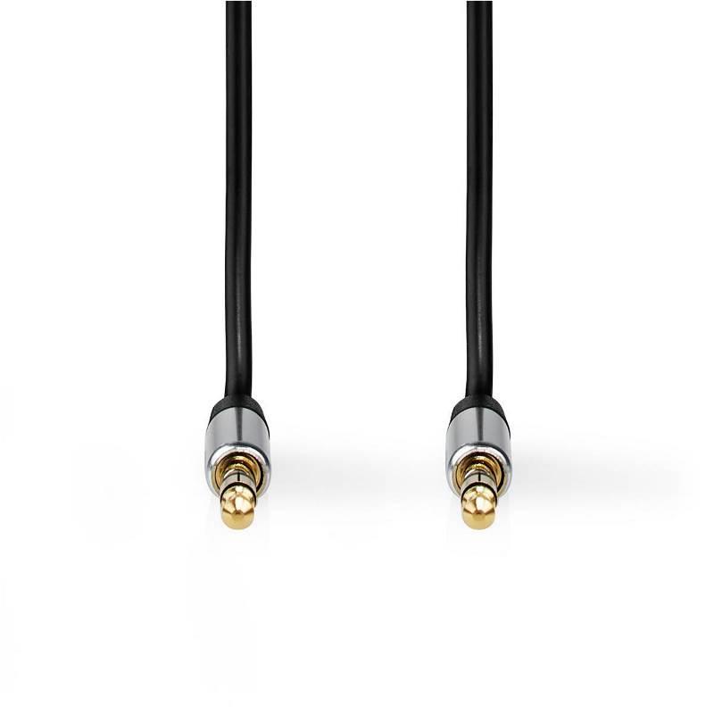 Nedis CAGP21250BK10 Stereo audiokabel | 2,5 mm naar 3,5 mm | 1,0 | zwart