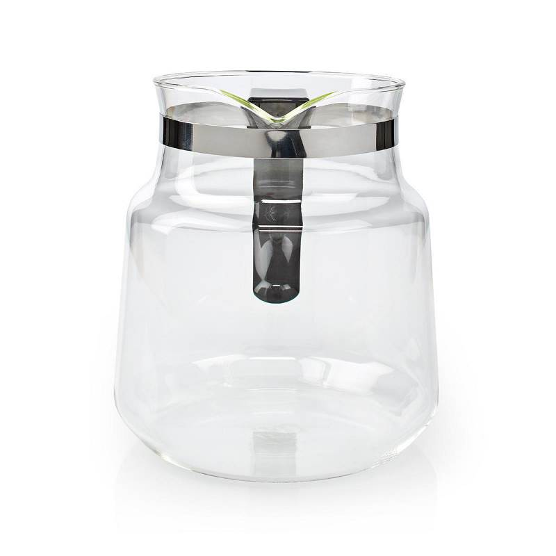 Nedis KACM100CPBK Glass Jug | 1.2 L | Black