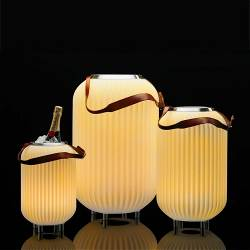 Nikki.Amsterdam 6620 The.Lampion L | Bluetooth® Speaker Lamp and Winecooler