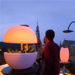 Nikki.Amsterdam 8000 The.Bowl | Bluetooth® Speaker Lamp and Winecooler